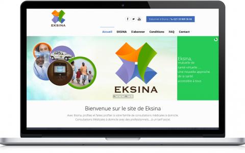 Site Web Eksina