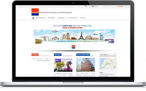 Site Web Société Générale Guinée Equatoriale
